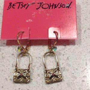 Brand New Betsey Johnson Earrings